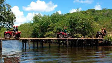 Quadriciclo Barra do Cunhau